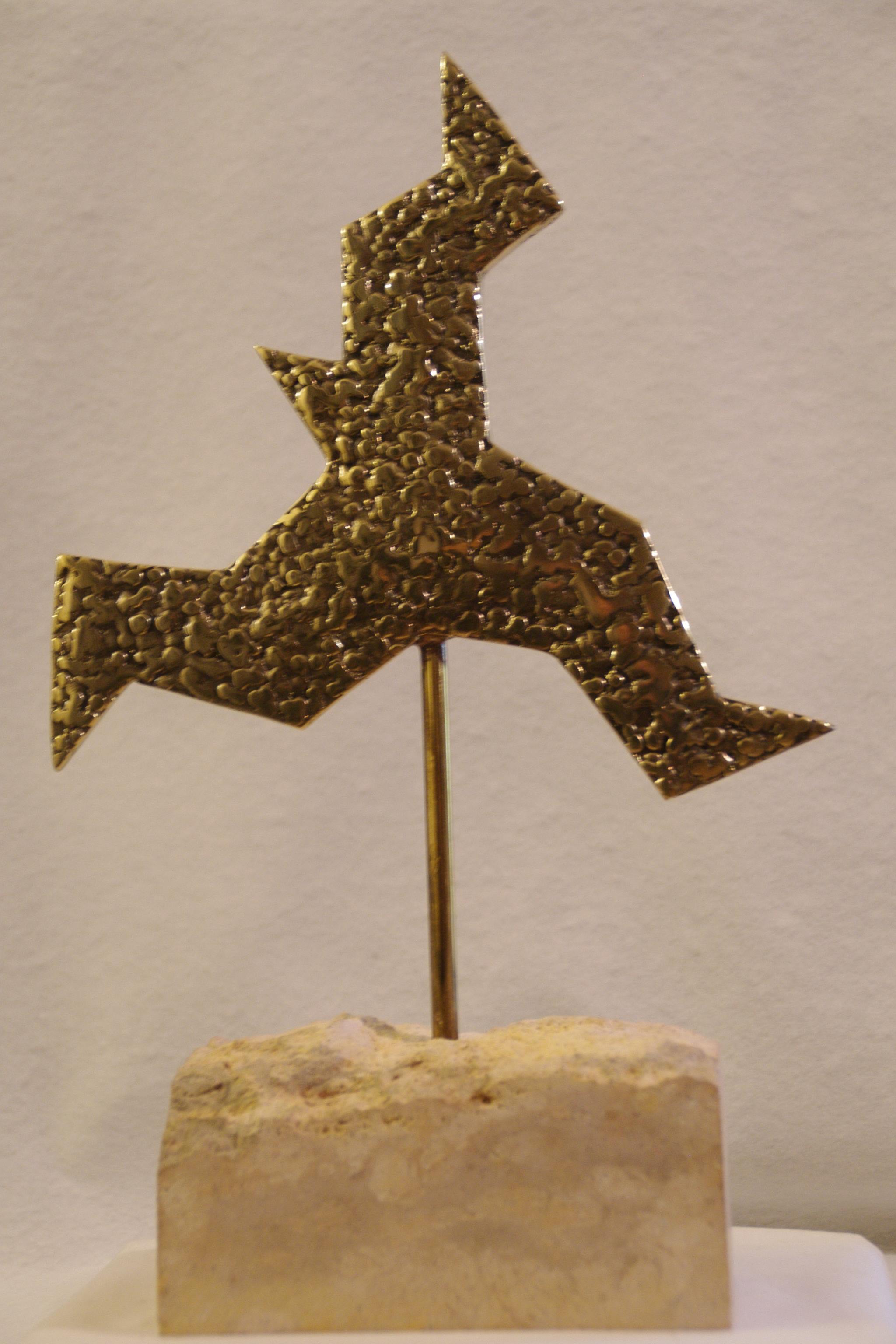 QUO VADIS - Bronze à cire perdue - Exemplaire unique